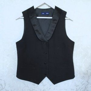 Neil Allyn Black Vest with Pockets